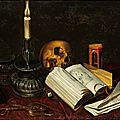 Vanitas still life, 17th century