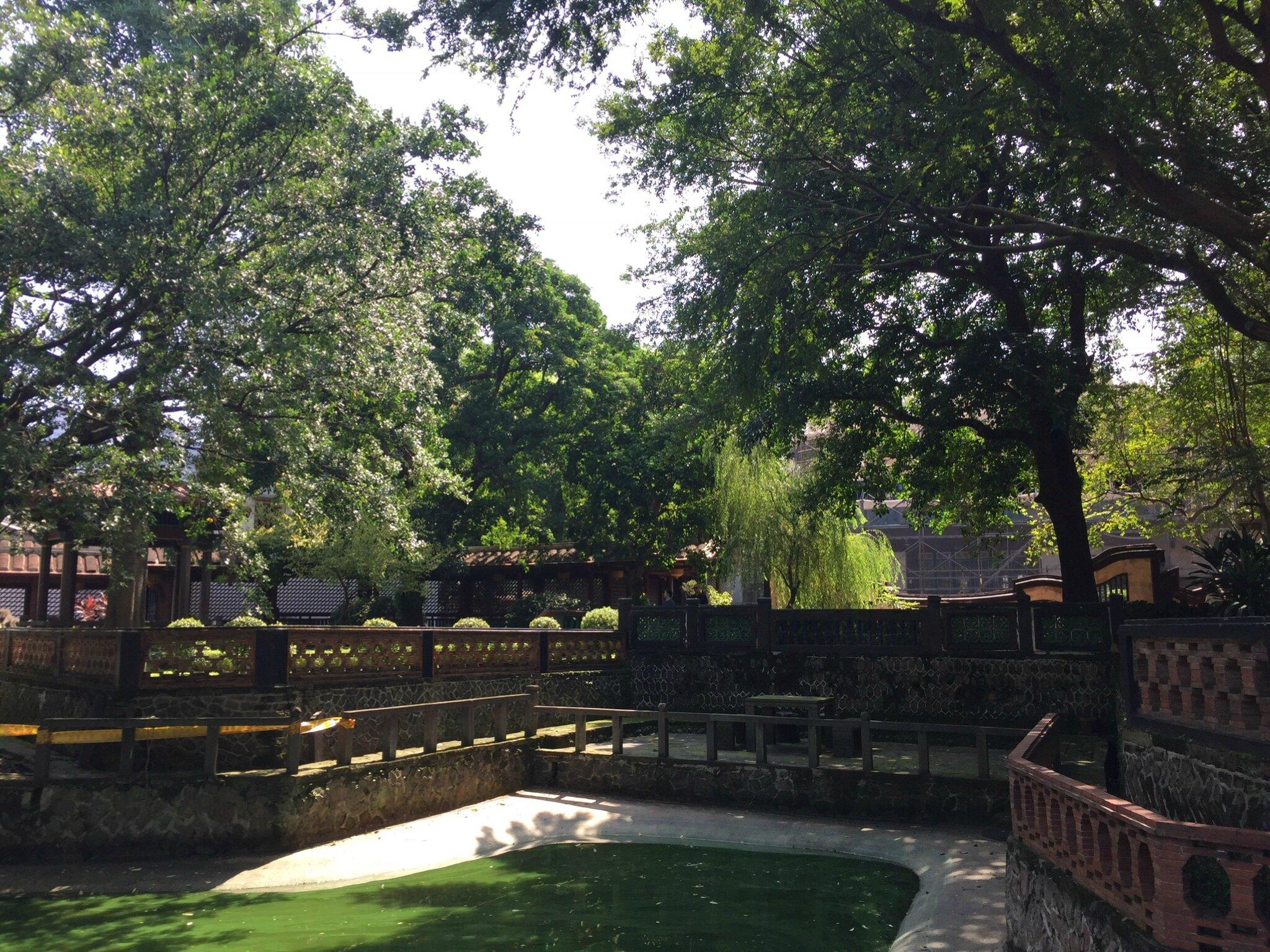 Le jardin de la famille Lin