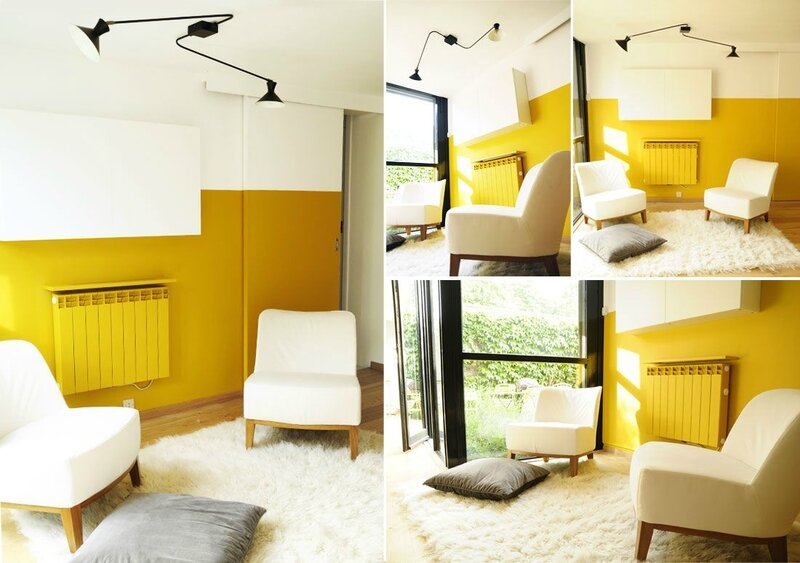 Flash back coach deco lille - Chambre bleu canard jaune moutarde ...