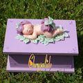 Nouvelle boîte de naissance pour petite fille...