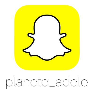 Crédits photo : Planete Adele / Logo Snapchat