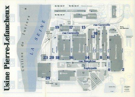 © 1990 François-Noël TISSOT Une Identité Pour Demain ® Aubergenville RENAULT Usine Pierre LEFAUCHEUX à Flins Information des collaborateurs Plan du site