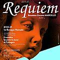 Requiem de marcello par le baroque nomade, ensembles quentin lejeune et pythagore