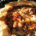 Tarte sauvage du gouezou aux pommes et au caramel beurre salé: goûter d'automne et jolies pommes!