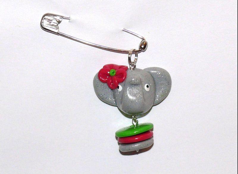 Elephant fimo
