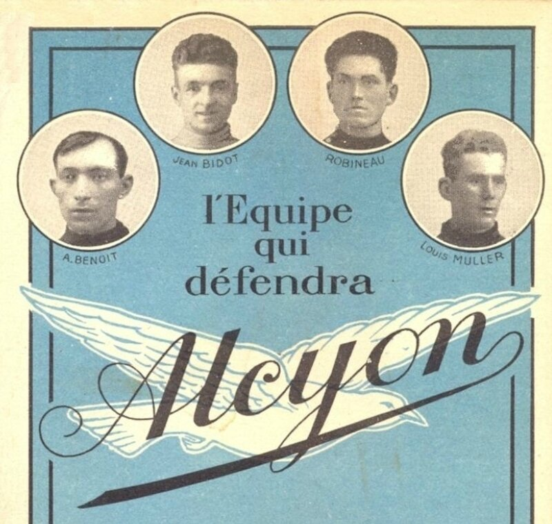 CPA Equipe Alcyon 1927h