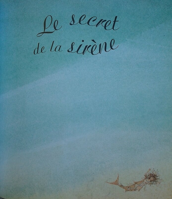 le secret de la sirène - Jane Ray - page titre