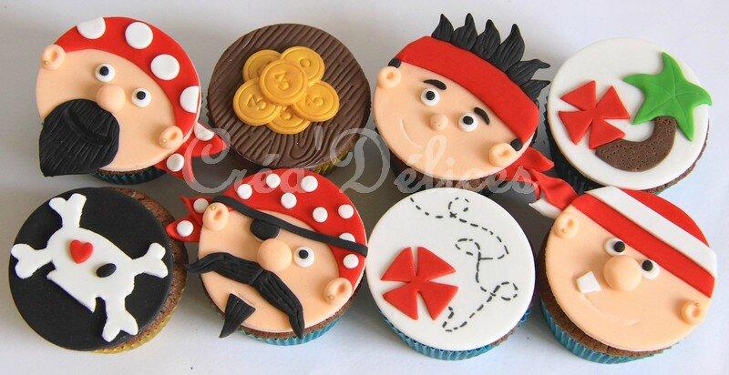 Cupcakes Pirates bis