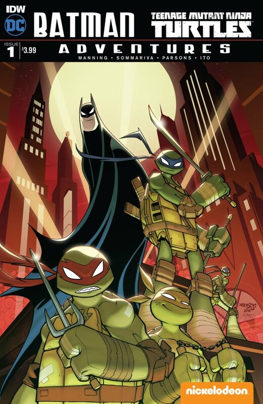 IDW batman TMNT adventures 01