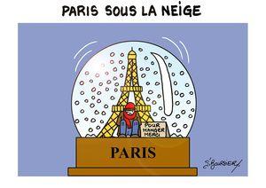 Paris sous la neige web