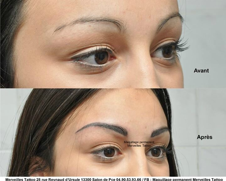 sourcils poil à poil, merveilles tattoo, maquillage permanent, naturel