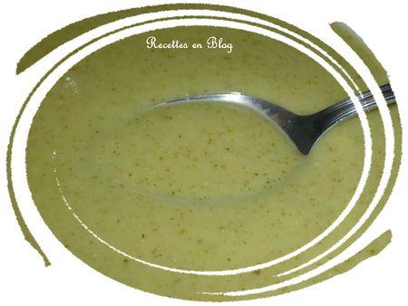 velouté de courgettes à la crème de soja2