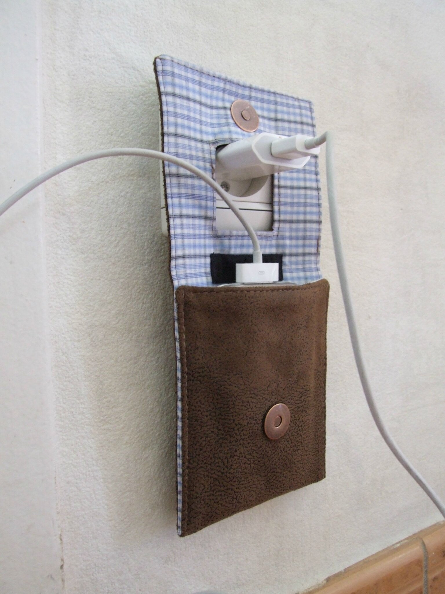 Tuto couture accessoire homme for Porte telephone