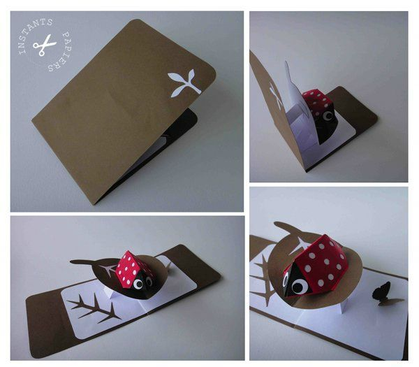 Photophore maison en papier instants papiers - Creation facile a faire soi meme ...