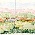 Vignobles et cultures du Salagou