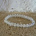 bracelet tout en cristal swarovski ( offert a ma belle fille )