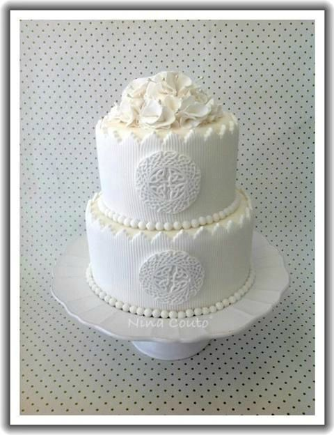 wedding cake blanc nina couto