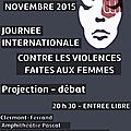 Rdv mercredi 25 novembre contre les violences faites aux femmes