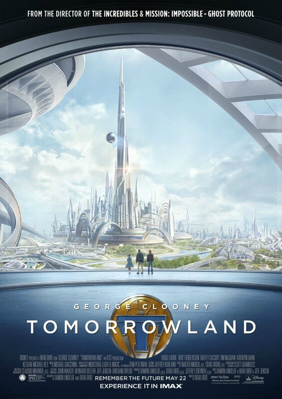 Tomorrowland (affiche Imax)