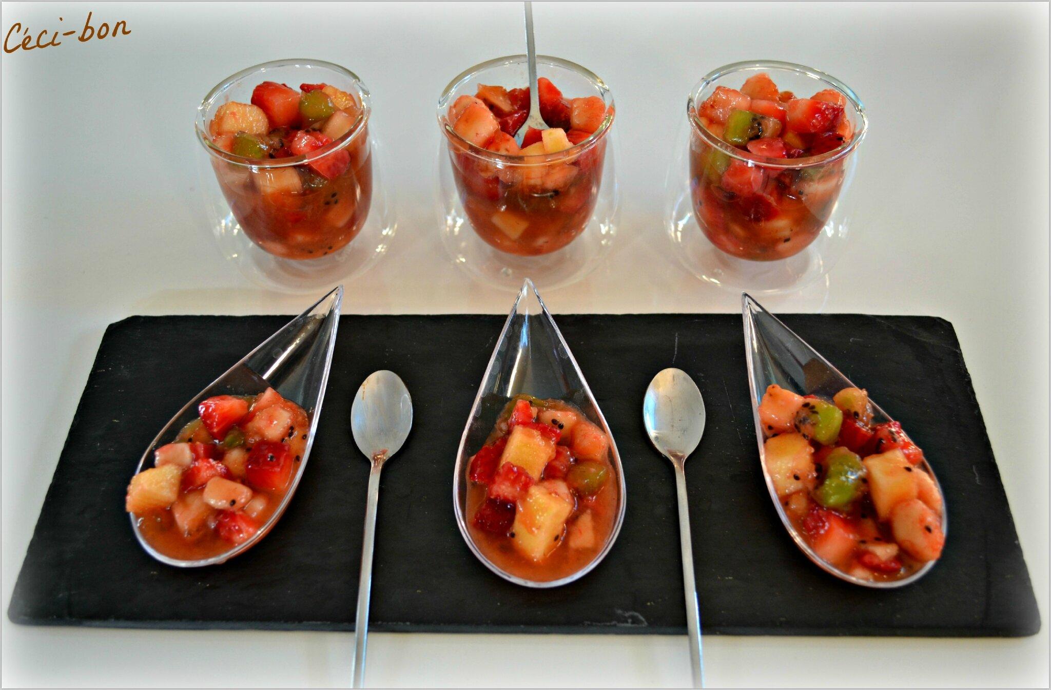 salade de fruits au jus d 39 oranges c ci bon. Black Bedroom Furniture Sets. Home Design Ideas