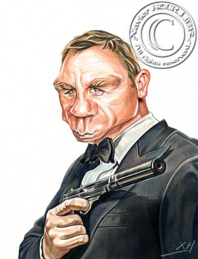 DANIEL_CRAIG_BOND_by_xavier_hourlier