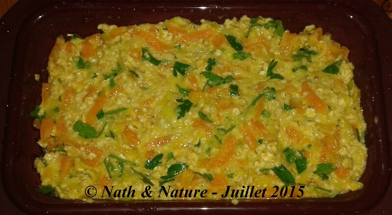 Healthy cake aux légumes - 2