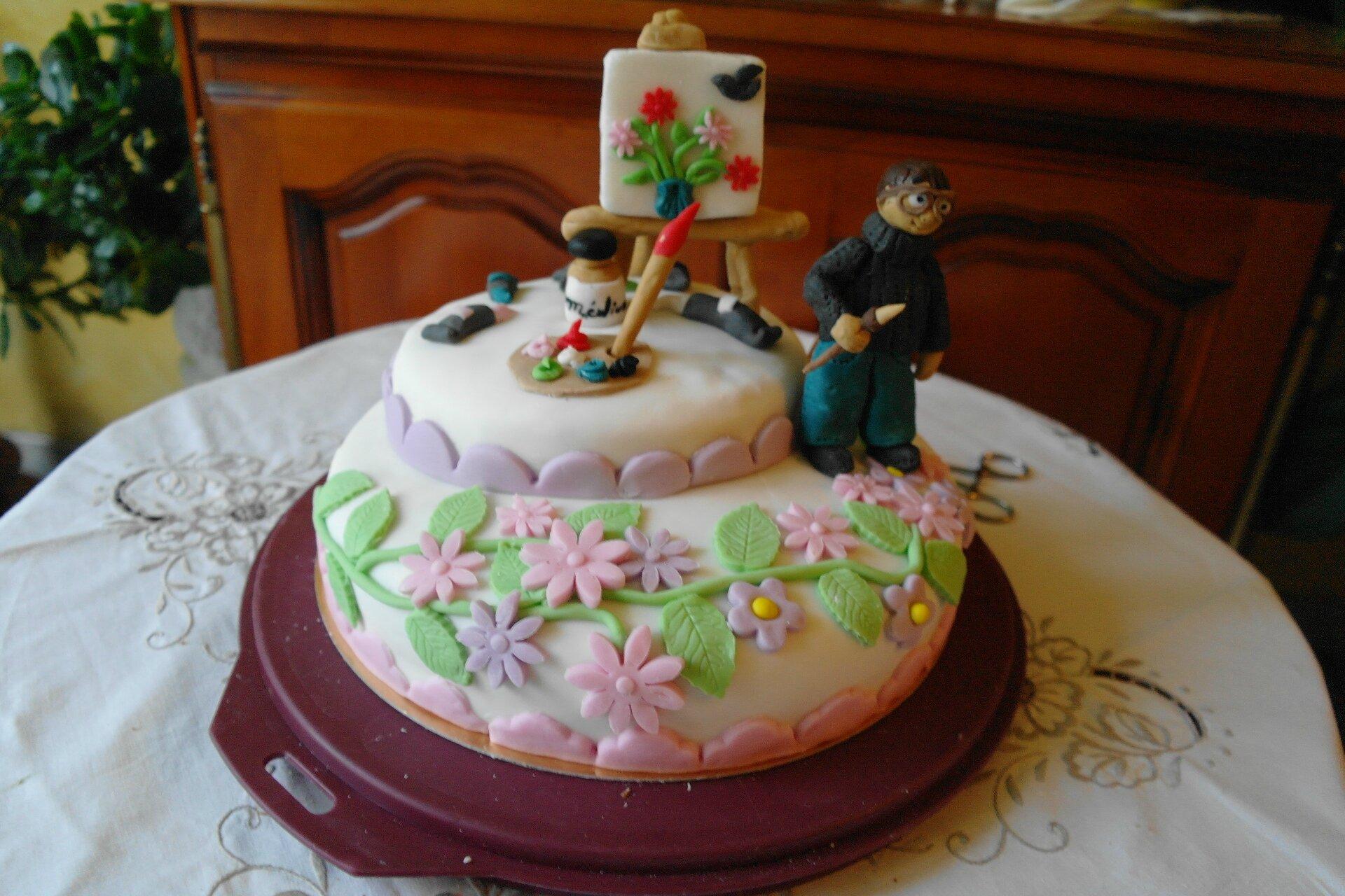 Tartes et gateaux page 6 sylgote aux fraises for Pate a sucre decoration