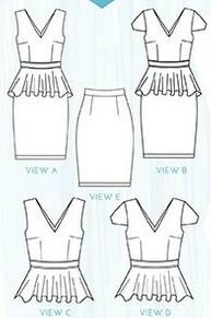 Simple Sew Patterns - Scarlett