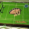 gateau terrain rugby