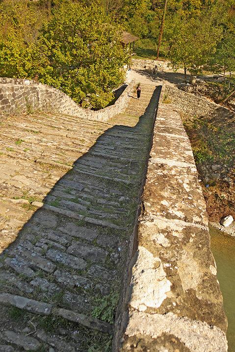 Pont ottoman de Plaka sur l'Arachtos — P1010750