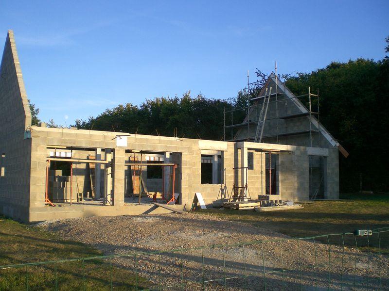 Pignon 2 fini construction de notre maison for Budget construction maison par poste