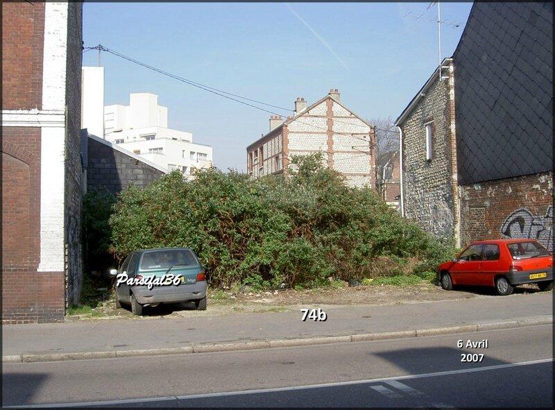 74b rue d'Elbeuf 2007 - Avril -