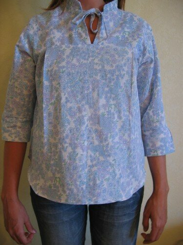 blouse 8 handmade gauze clothes