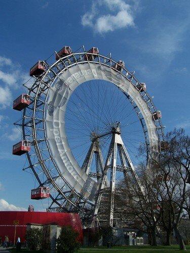 Vienne-Prater et la roue