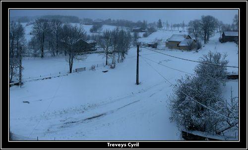 2008 12 10 Panorama du Paysage de Madelonnet à 16h49