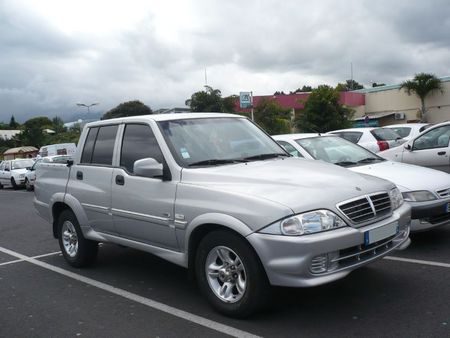 SSANGYONG Musso Sports Le Tampon (2)