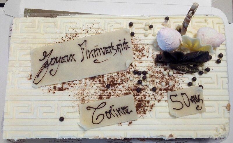 gâteau anniv Corinne