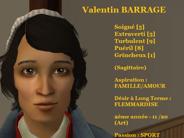 Valentin BARRAGE