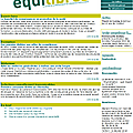 Lettre equilibres inpes n°85 - septembre 2012