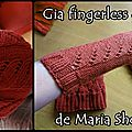 gia fingerless gloves