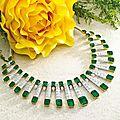 Important emerald and diamond demi-parure, de grisogono