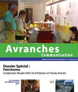 Avranches communication publication printemps 2012