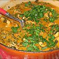 Curry de poulet & epinards by betsa
