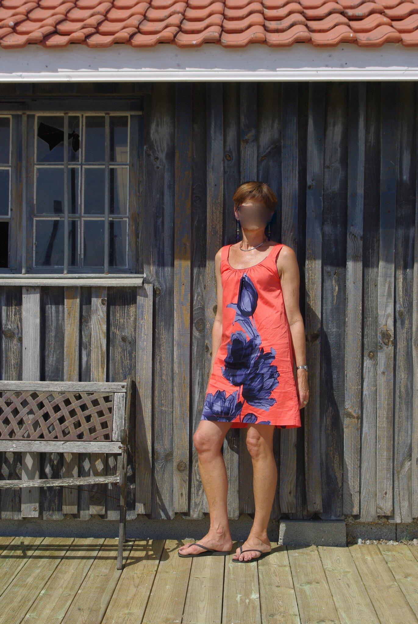 LA robe d'été : Burda 161 de mai 2013, robe102