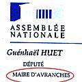 Guénhaël huet, l'ancien maire d'avranches toujours maire d'avranches