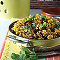 Poêlée de quinoa à la mexicaine