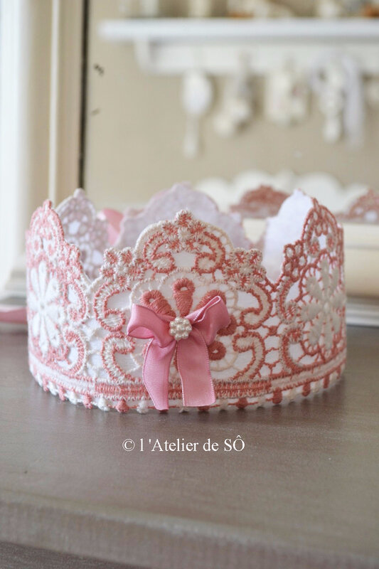 couronne-shabby rose