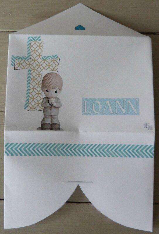 Enveloppe coeur Communion Loann (4)