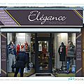 Elegance boutique : conception de la nouvelle vitrine