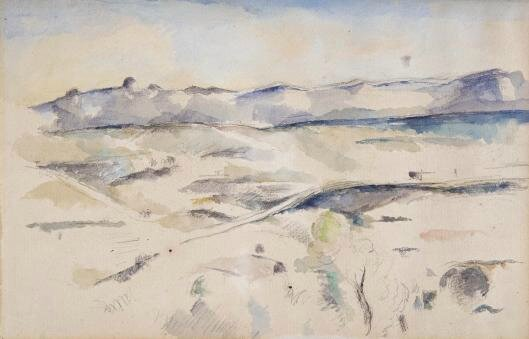Barnes Foundation Discovers Two Hidden Sketches by Paul Cézanne